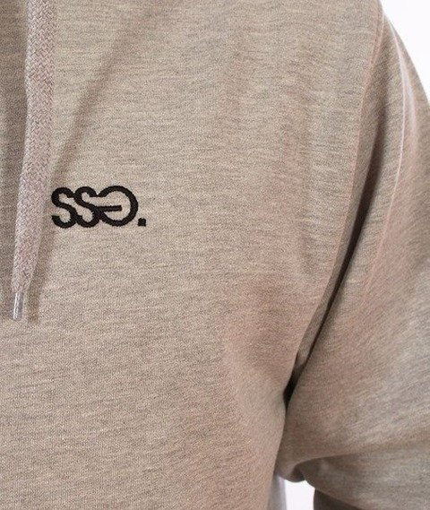 SmokeStory-Zip SSG Classic Bluza Zip Jasny Melanż