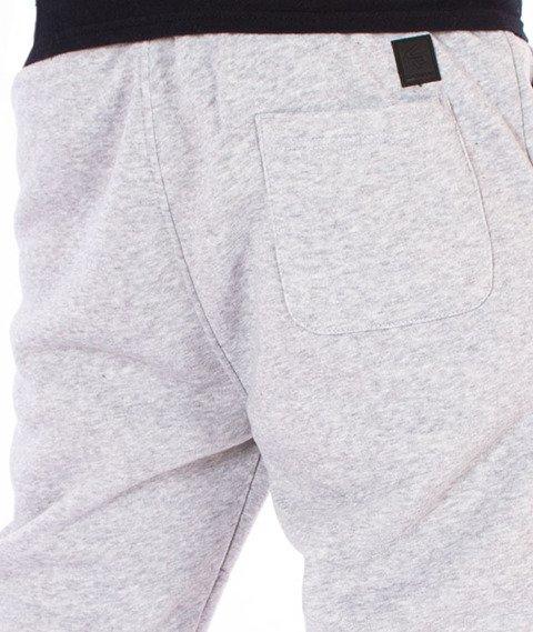 Southpole-Biker Fleece Jogger Spodnie Dresowe Szare