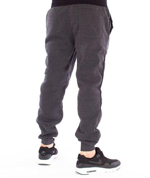 Southpole-Fleece Jogger Spodnie Dresowe Grafitowe