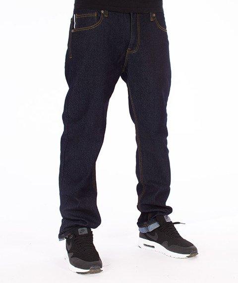 Southpole-Slim Straight Spodnie Jeans Rinse Indigo