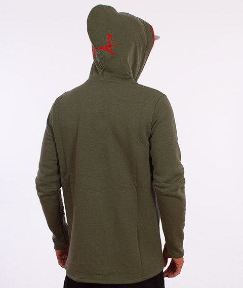 Stoprocent-Assasin Bluza Rozpinana Khaki