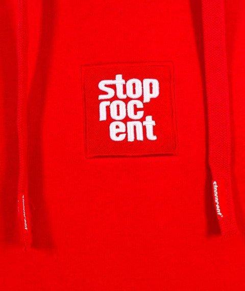 Stoprocent-BM Cube Bluza z Kapturem Red
