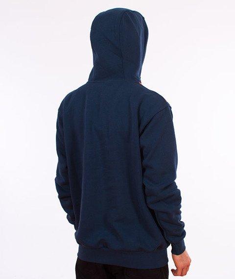 Stoprocent-BM Downhill Bluza z Kapturem Navy Blue