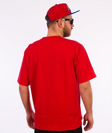 Stoprocent-Bandana16 T-shirt Czerwony