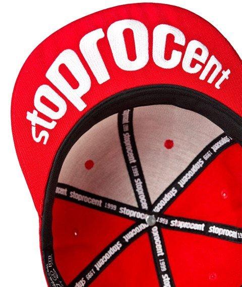 Stoprocent-Big Tag Snapback Czerwony