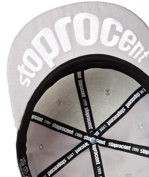 Stoprocent-Big Tag Snapback Szary