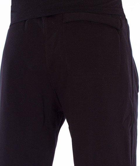Stoprocent-CS Lampas Spodnie Dresowe Czarne
