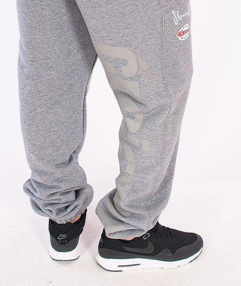 Stoprocent-CS16 Spodnie Dresowe Szare