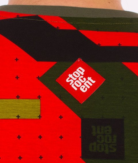Stoprocent-Camu Slim T-Shirt Red