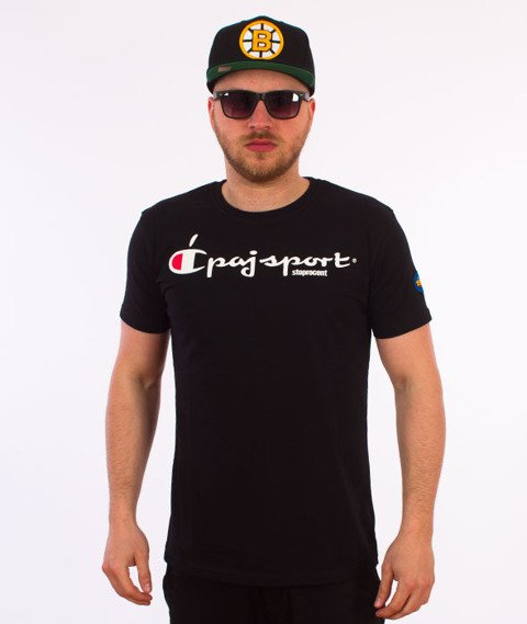 Stoprocent-Champ T-Shirt Czarny