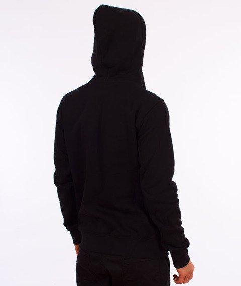 Stoprocent-Essa17 Bluza z Kapturem Czarna