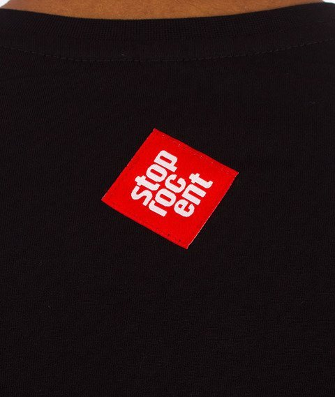 Stoprocent-Kamikaze T-Shirt Czarny