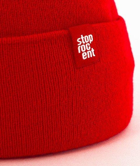 Stoprocent-Long Czapka Zimowa Czerwona