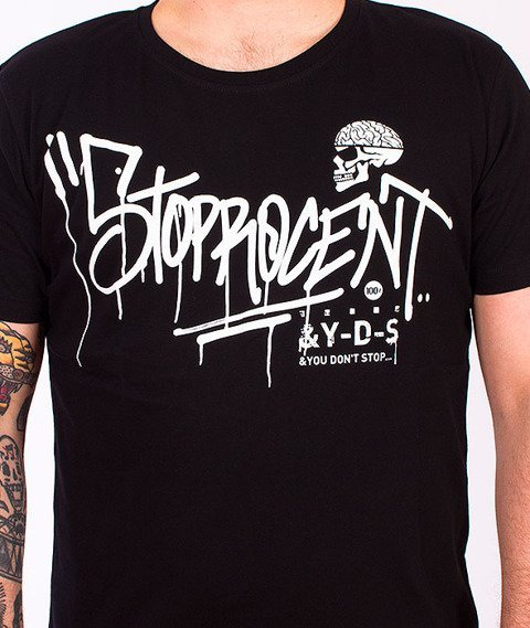 Stoprocent-Marker T-Shirt Black