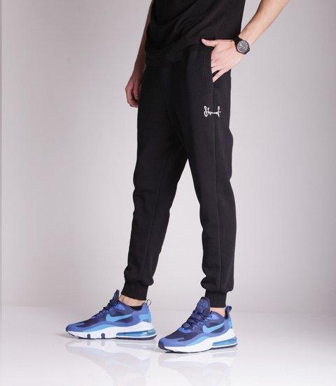 Stoprocent SDC SMALLTAG Spodnie Dresowe Czarny