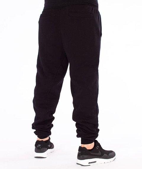 Stoprocent-SDC Tech Spodnie Dresowe Czarne