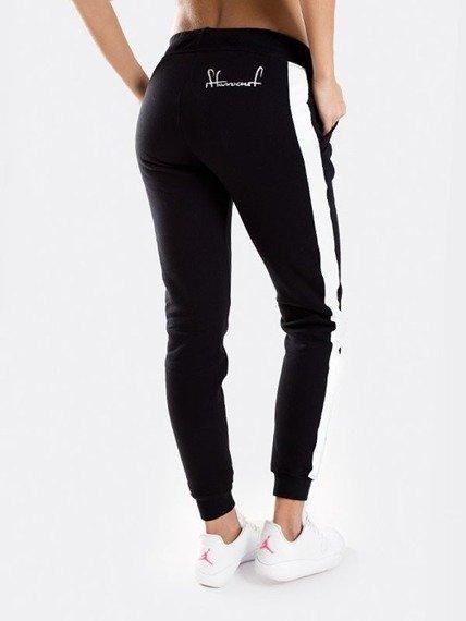 Stoprocent-SDJ Tape Spodnie Dresowe Damskie Black