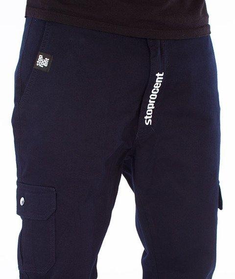 Stoprocent-SJ Army 17 Jogger Spodnie Granatowe