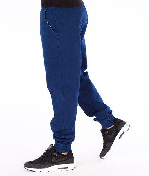Stoprocent-SJ Jogger Classic17 Spodnie Granatowe