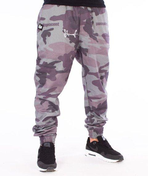 Stoprocent-SJ Jogger Classic17 Spodnie Moro Grey