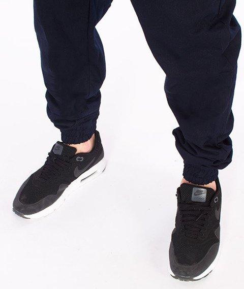 Stoprocent-SJ Jogger Spodnie Granatowe