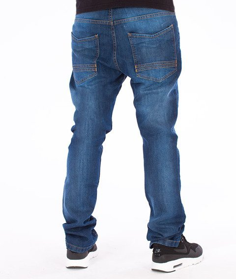 Stoprocent-SJ Slim Low True Jeans Blue