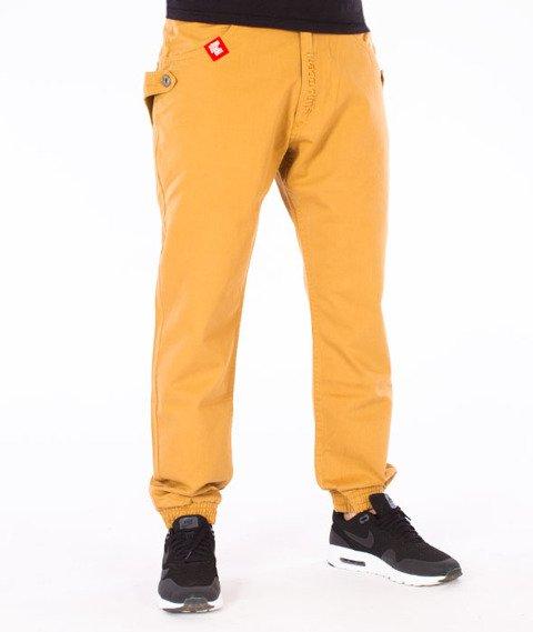 Stoprocent-SJ Traveler Canvas Jogger Spodnie Honey