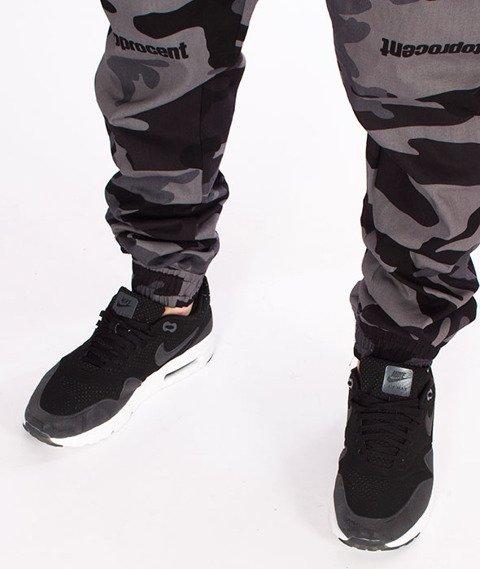 Stoprocent-SJJ Classic Spodnie Jogger Camo Grey