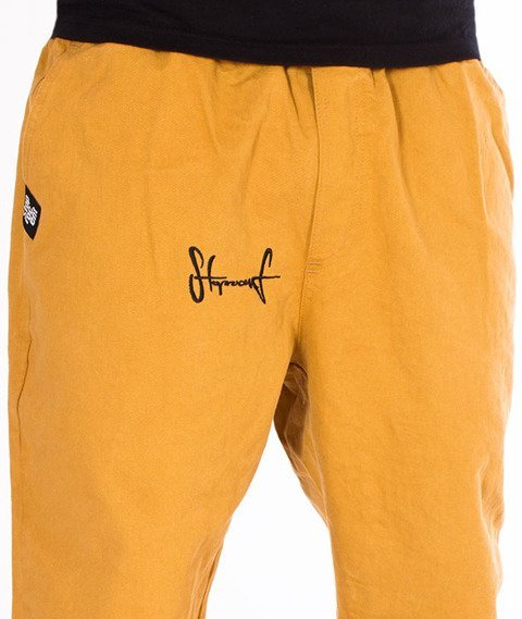 Stoprocent-SJJ Classic Spodnie Jogger Honey