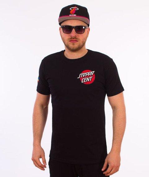 Stoprocent-Santa T-Shirt Czarny
