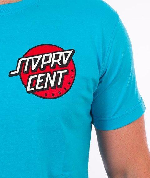 Stoprocent-Santa T-Shirt Niebieski