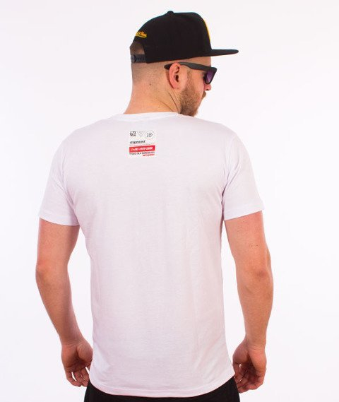 Stoprocent-Sasha T-Shirt Biały