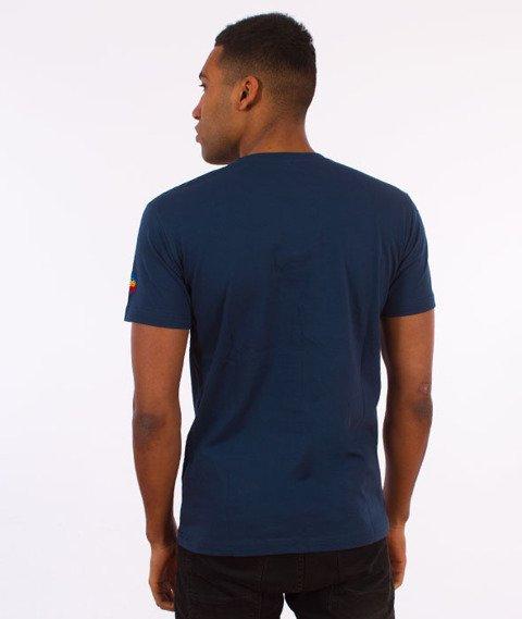 Stoprocent-Surftag T-Shirt Granatowy