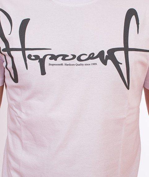 Stoprocent-TMS Slimtag T-Shirt White
