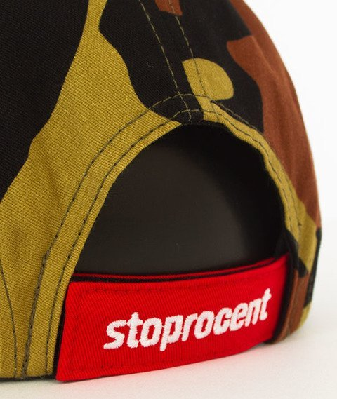 Stoprocent-Tag 5Panel Snapback Camo