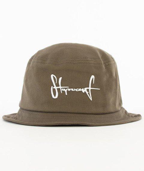 Stoprocent-Tag Bucket Hat Khaki