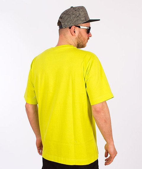 Stoprocent-Tag16 T-Shirt Toxic Yellow