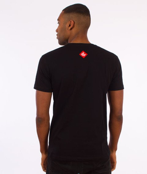 Stoprocent-Tag17 Slim T-Shirt Czarny