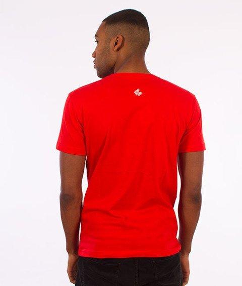 Stoprocent-Tag17 Slim T-Shirt Czerwony