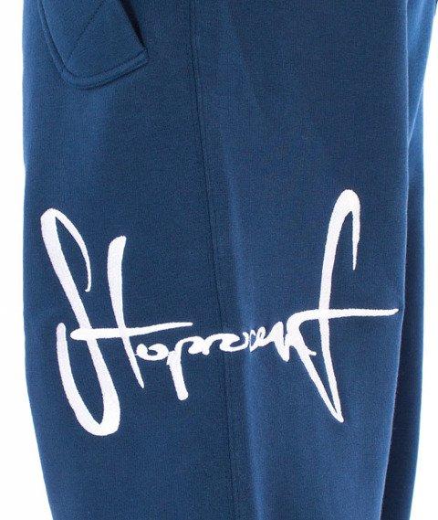 Stoprocent-Tag17 Spodnie Dresowe Granatowe