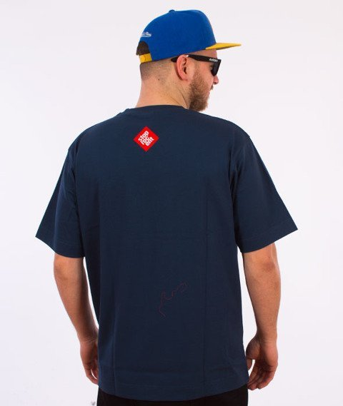 Stoprocent-Tag17 T-shirt Navy Blue
