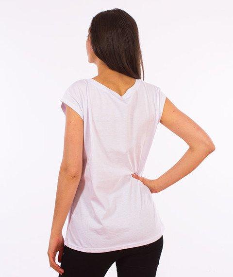 Stoprocent-Taka T-Shirt Damski Biały