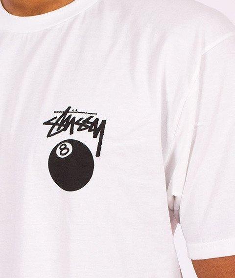 Stussy-8 Ball T-Shirt White