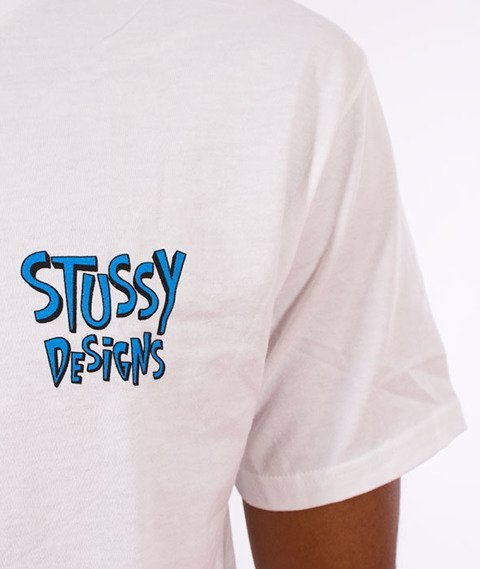 Stussy-Broken World T-Shirt White