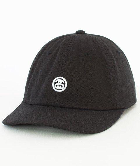 Stussy-Contrast Strap Cap Snapback Czapka Black