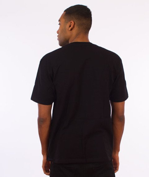 Stussy-Cracked T-Shirt Black