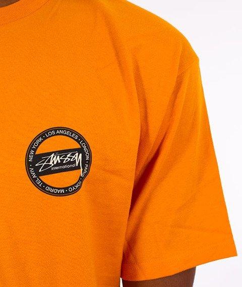 Stussy-International Dot T-Shirt Apricot