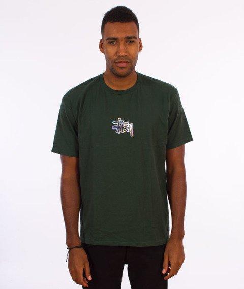 Stussy-Prism Logo T-Shirt Dark Forest