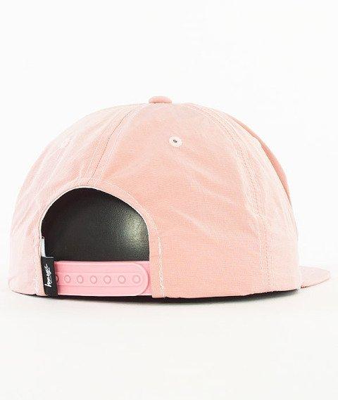 Stussy-Reflective Tape Snapback Czapka Pink