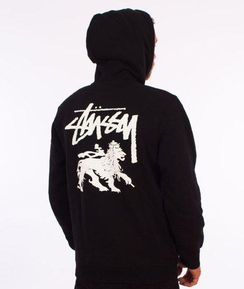 Stussy-Stock Lion Hood Bluza Kaptur Black